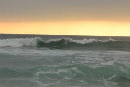Soft sunset at Hermosa Beach
