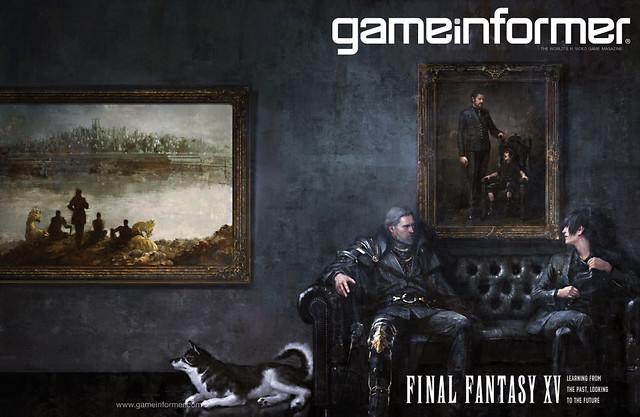 ファイナルファンタジーXV「Game Informer 5月号表紙」
