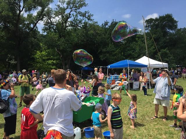 Bubble craziness, Eeyore's Birthday