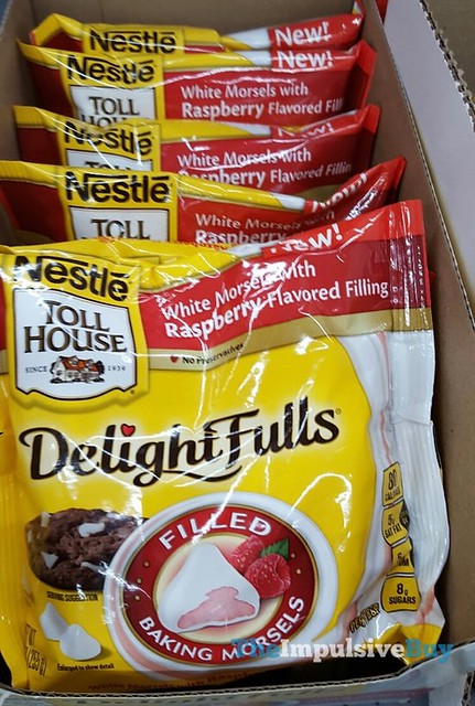 Nestle Toll House White Morsels with Raspberry Delight Fulls