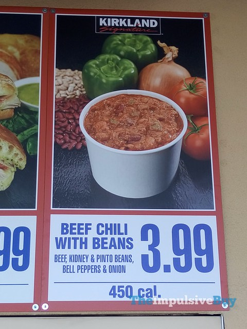 Kirkland Signature Beef Chili with Beans