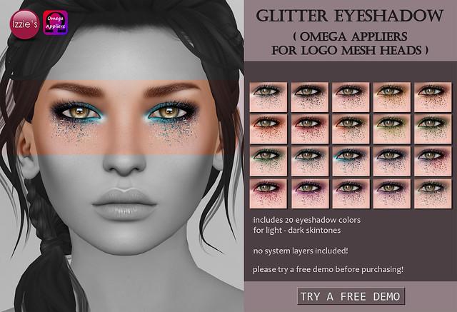 Logo Glitter Eyeshadows