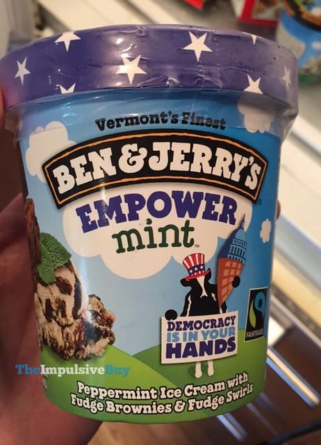 Ben & Jerry's Empower Mint Ice Cream