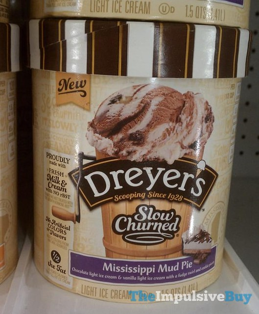 Dreyer's Slow Churned Mississippi Mud Pie Ice Cream