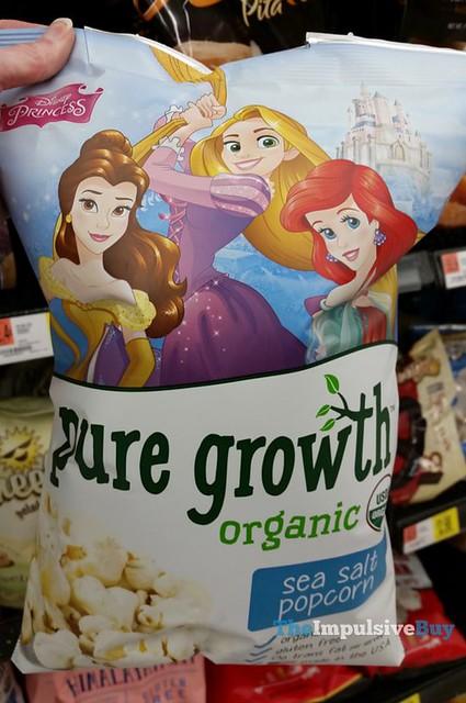 Disney Princess Pure Growth Organic Sea Salt Popcorn