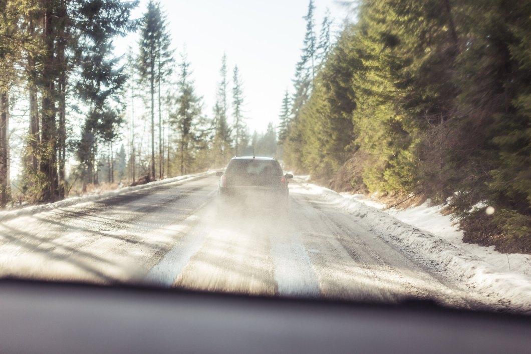 Imagen gratis de una carretera en el bosque