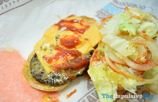 Burger King Extra Long Buttery Cheeseburger 2