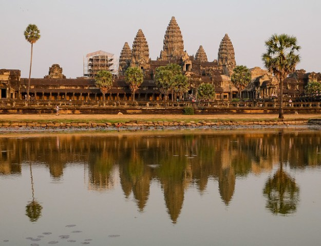 Angkor Wat, the classic shot