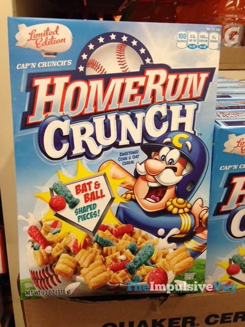 Limited Edition Cap'n Crunch's Home Run Crunch