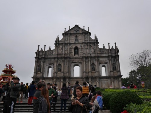 Ruins of St. Paul's Cathedral