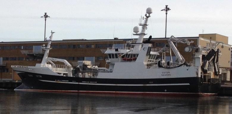 S 205 Ceton i Göteborgs frihamn