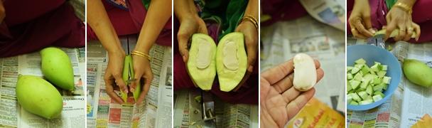 Mango Pickle Making