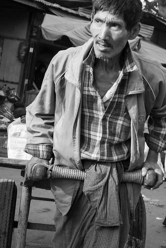 Zeigyo market. Mandalay