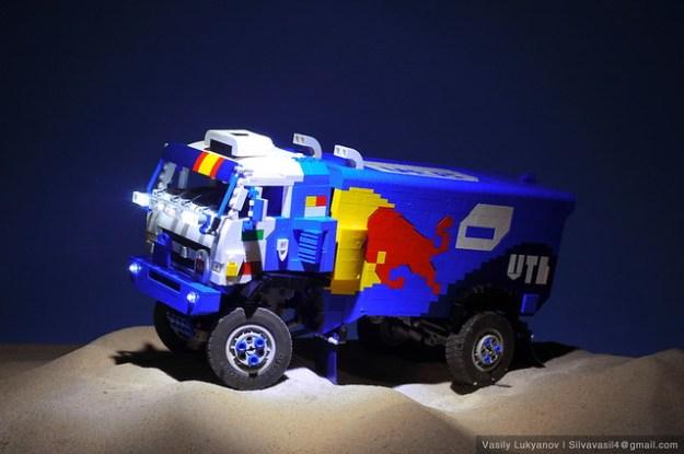 Lego Kamaz Master by Vasily Lukyanov (Silvavasil) | Dakar 2016