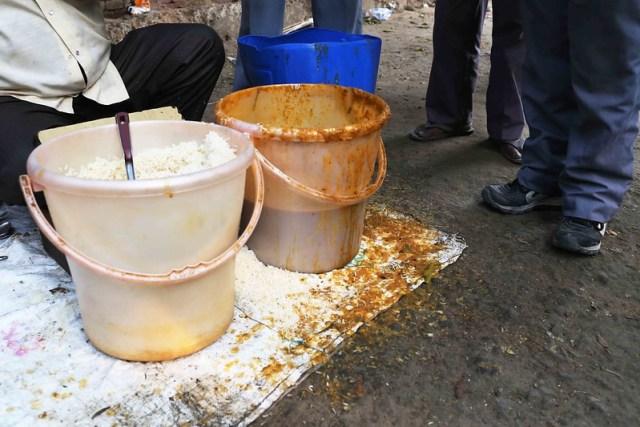 City Food - Auto Drivers' Dal-Chawal Stall, Kasturba Gandhi Road