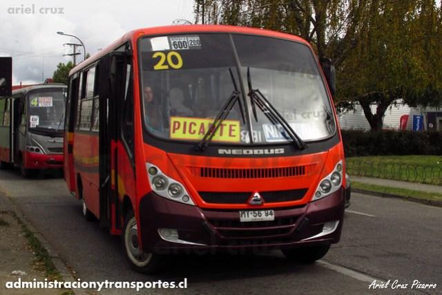 Micro 20 Valdivia - Niebla / Neobus Thunder - Agrale (MY5694)