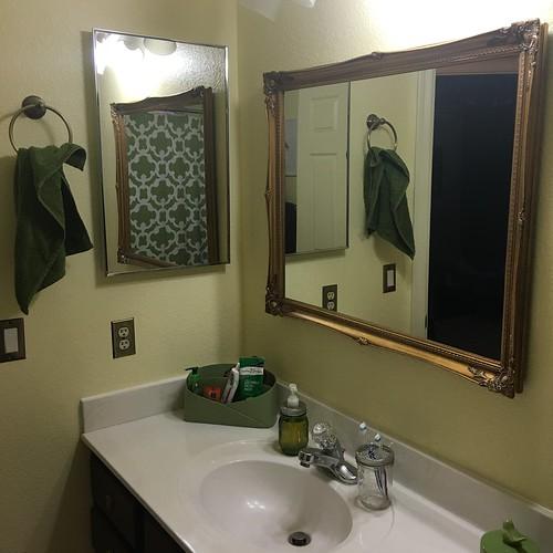 Bathroom renovation March 2016. Www.africankelli.com