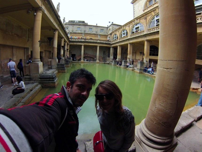 Baños Romanos de Bath en Inglaterra