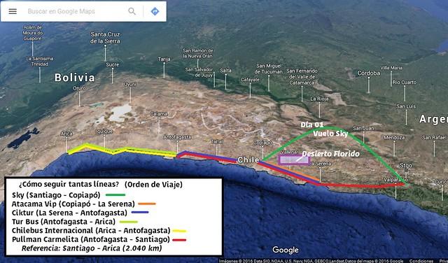 Mapa Ariel Norte