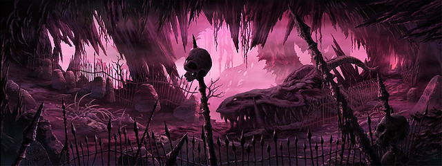 第三階層「冥界ノ墓所」