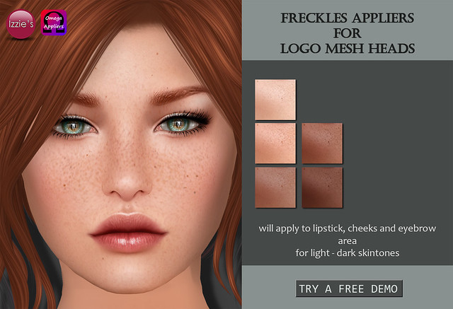 Freckles Appliers for LOGO mesh heads