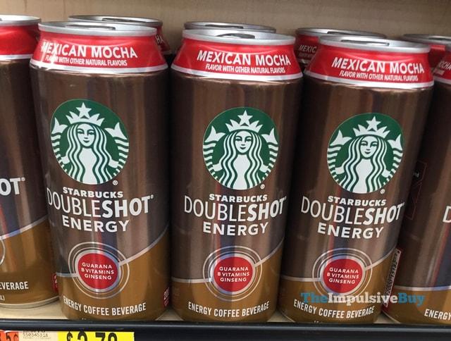 Starbucks Doubleshot Energy Mexican Mocha