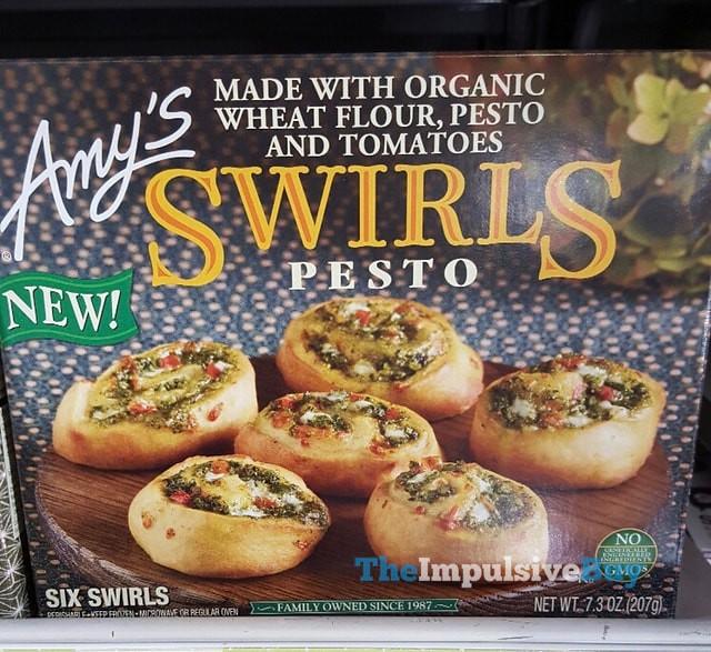 Amy's Pesto Swirls