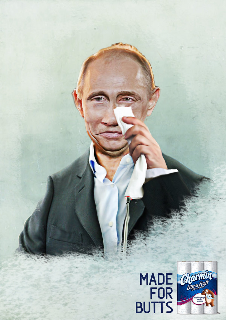 Charmin Paper - Charmin Made for Butts Putin