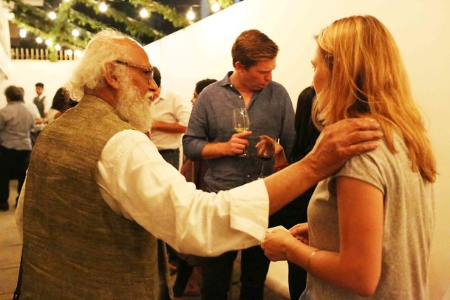 Netherfield Ball – Explosive Clash Averted at William Dalrymple's Grand Opening, Vadhera Art Gallery, Defence Colony