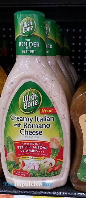 Wishbone Creamy Italian with Romano Cheese Dressing
