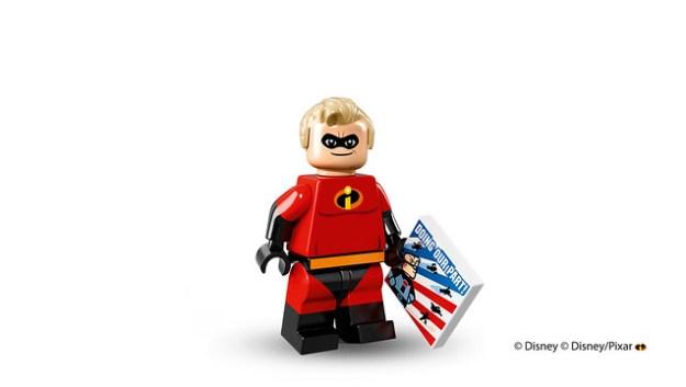 Lego Disney Minifigures Mr. Incredible