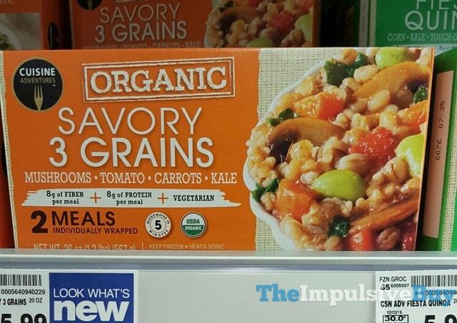 Cuisine Adventures Organice Savory 3 Grains