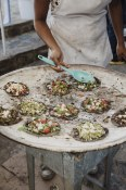 Another example of a comal. The chalupas at this stand provided for a much needed break from the heavier tradition of Oaxacan food.