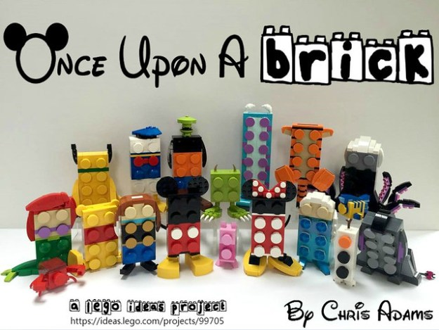 Group Shot: Once Upon A Brick