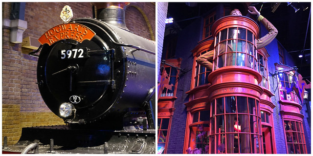 HOgwarts xpress and diagon alley