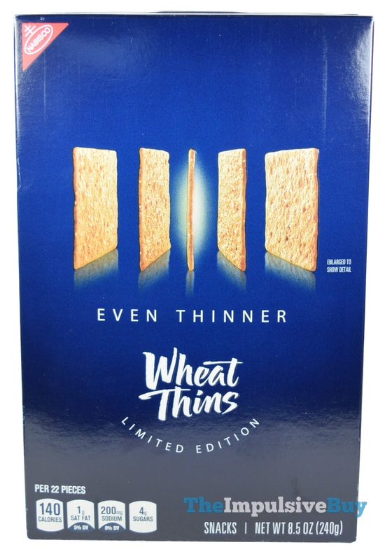 Limited Edition Even Thinner Wheat Thins