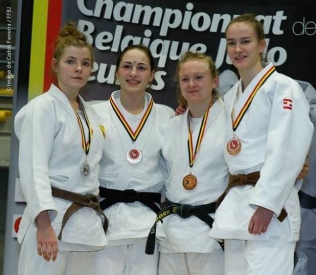 Vice championne de Belgique: Alicia Verhaegen