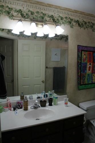 Bathroom renovation March 2016 www.africankelli.com
