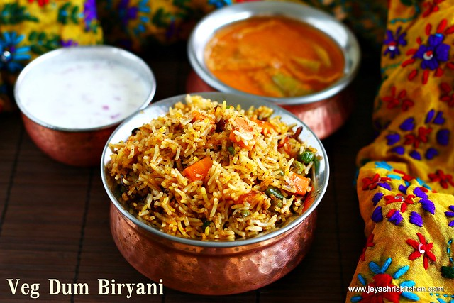Hyderabadi Dum Biryani.