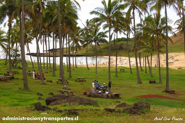 Playa Anakena - Isla de Pascua