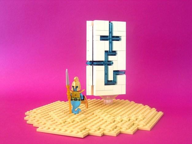 Mystic prism obelisk