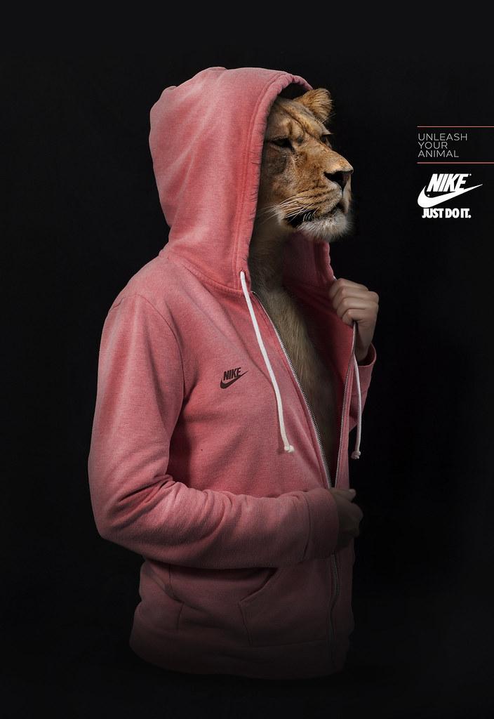 Nike - Unleash Your Animal Lion
