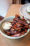 Hand cut sweet potato chips with aioli, $8: COOH, Alexandria. Sydney Food Blog Review