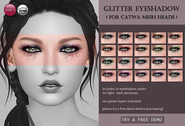 Catwa Glitter Eyeshadows