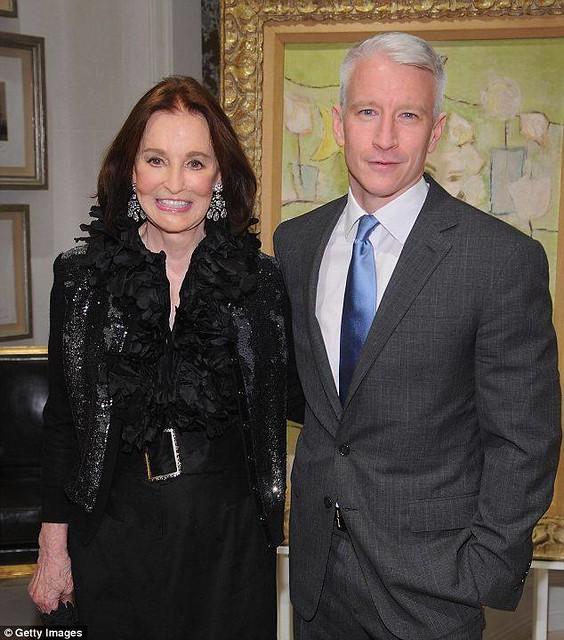 Gloria Vanderbilt and Anderson Cooper