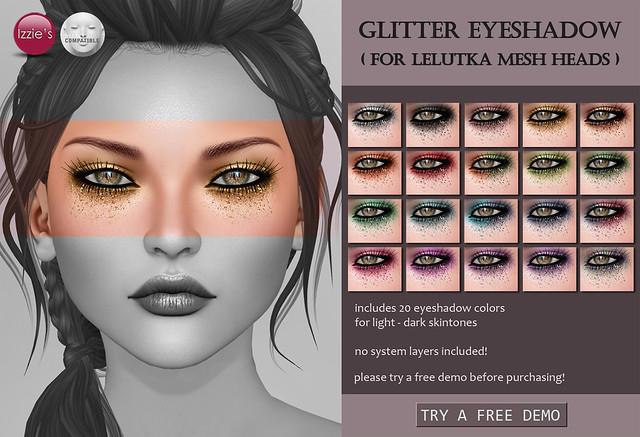 LeLutka Glitter Eyeshadows