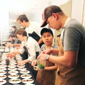 Plating at Departure | Chefs Week PDX