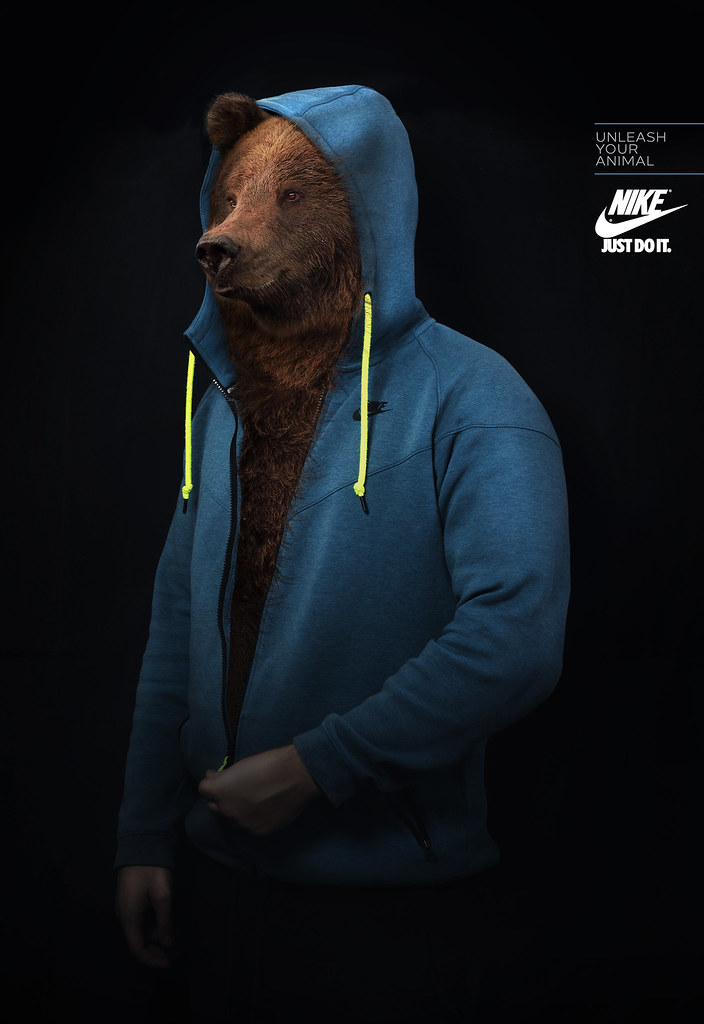 Nike - Unleash Your Animal Bear