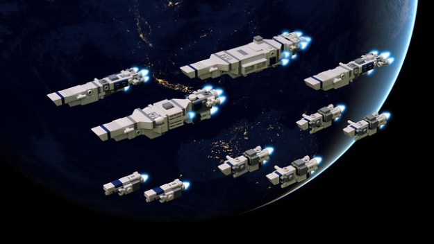 Earth Alliance Navy - EAS Illustrious Carrier Strike Group