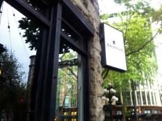 Exterior Bauhaus Sign